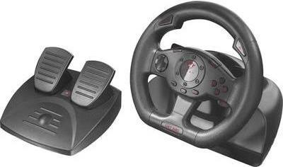 Trust GXT 580 Vibration Feedback Racing Wheel L...