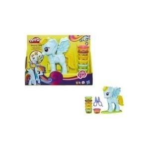 Hasbro Play-Doh Rainbow Dash Style Salon Featur...