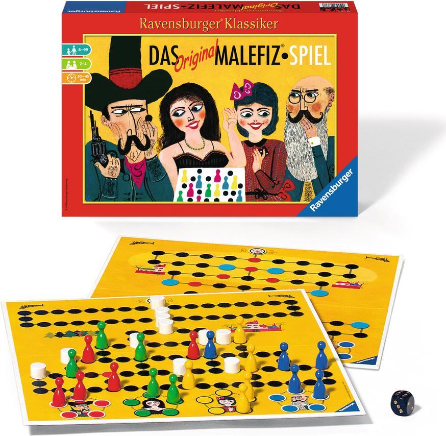 Ravensburger Das Original Malefiz - Spiel - Kin...
