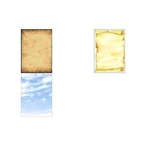 "sigel Design-Papier, DIN A4, 90 g-qm, Motiv ""Pergament Feinpapier, für Inkjet-, Laserdrucker und Kopierer (DP153)"