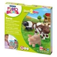 FIMO kids Modellier-Set Form & Play farm, Level...