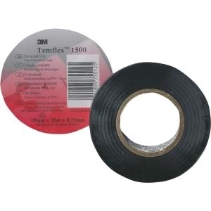 3M Quante Isolierband Temflex 15x10 schwarz (128347)