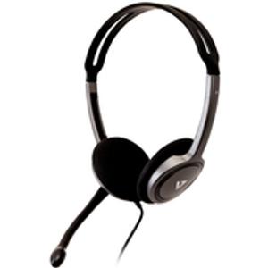 V7 3.5MM STEREO HEADSET W/NOISE Ultra-Leichtes Stereo-Headset mit Mikrofon (H...