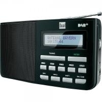 DUAL DAB+ Radio DAB 5.1 Kofferradio Schwarz (DAB 5.1)