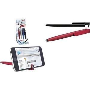 WEDO Eingabestift 3-in-1 TRIPLE, 16er Display Touchpen mit Kugelschreiber & Smartphone-Halter, weiche - 16 Stück (261 51299)