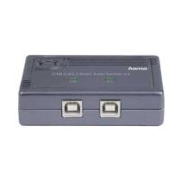 Hama USB 2.0 Data Switch 1:2 - USB-Umschalter f...