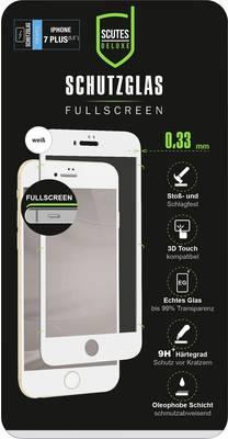 Image of Scutes Deluxe 3D Schutzglas, IPhone 7/8 plus weiß Displayschutzglas Passend für: Apple iPhone 7 Plus, Apple iPhone 8 Plus 1 St- (96427)