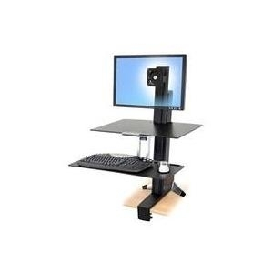 Ergotron WorkFit-S Single HD with Worksurface+ ...