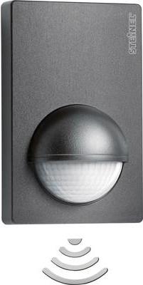 Sicherheit - Steinel 034580 Wand PIR Bewegungsmelder 180 ° Relais Anthrazit IP54 (034580)  - Onlineshop JACOB Elektronik