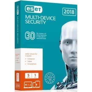 ESET Multi-Device Security 2018 - Box-Pack (1 J...