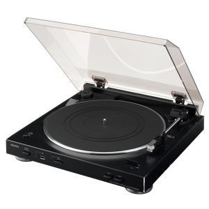 Plattenspieler, Turntables - Denon DP 200USB Plattenspieler mit USB Schwarz  - Onlineshop JACOB Elektronik