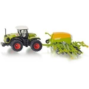 Siku Traktor mit Sämaschine - 1:87 - Vormontier...