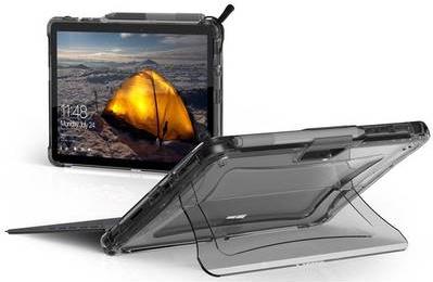 Image of Urban Armor Gear UAG Rugged Case for Microsoft Surface Go - Plyo Ice - Hintere Abdeckung für Tablet - widerstandsfähig - für Microsoft Surface Go (321072114343)
