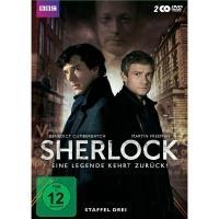 Sherlock - Staffel 3 TV-Serie/Serien DVD - broschei