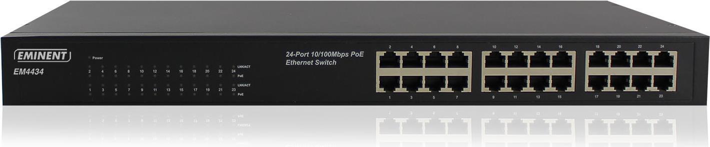 Eminent EM4434 Nicht verwalteter Netzwerk-Switc...