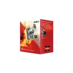 Prozessoren - AMD A4 5300 3.4 GHz 2 Kerne 2 Threads 1 MB Cache Speicher Socket FM2 Box  - Onlineshop JACOB Elektronik