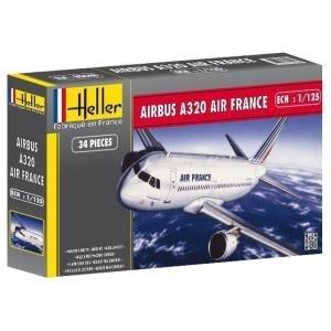 Heller Airbus A320 der Air France Modell-Bausat...