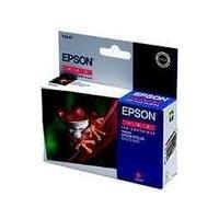 Epson T0547 - Druckerpatrone - 1 x Pigmented Red - 400 Seiten - für Stylus Photo R1800, R800 (C13T054740)