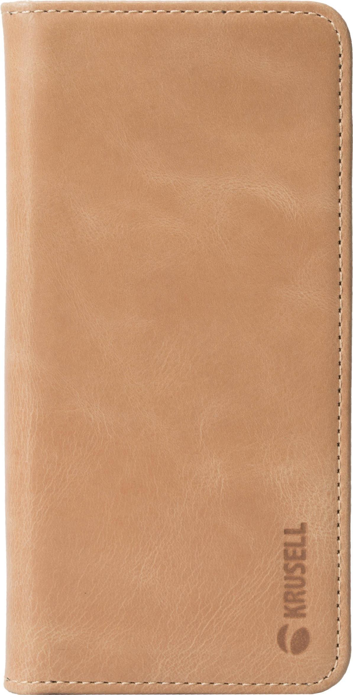 Taschen, Hüllen - Krusell Sunne 4 Card FolioWallet Flip Hülle für Mobiltelefon Gewebe, Vintage Leder Nude für Huawei P20 Pro  - Onlineshop JACOB Elektronik