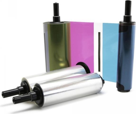 Teac Media Kit - Farbe (Cyan, Magenta, Gelb) - Druckerfarbband-Kit - für P 55
