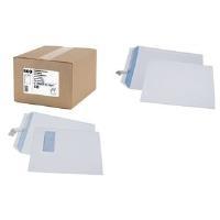 GPV Versandtaschen, C4, 229 x 324 mm, weiß, 90 g/qm Haftklebung mit Abdeckstreifen, Großeinpackung - 1 Stück (532)