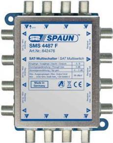 Spaun SAT Multischalter Mini SMS 4487 F Eingäng...