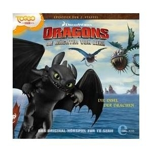 Dragons-Die Wächter Von Berk - Dragons Die von 02: Insel der Drachen (CD) - broschei