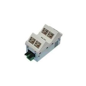 MICROSENS Fast Ethernet Installation Switch 45 x 45 - Switch - L2+ - verwaltet - 6 x 10/100 - Plugin-Modul (MS450157M)