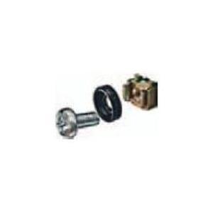 Schweitzertechnik Schweitzer - Schrauben, Muttern und Unterlegscheiben für Rack (Packung mit 100) (ZAX 0613) - broschei