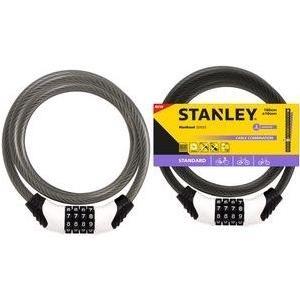 Stanley Combination Cable Bike Lock 180cm ø10mm...