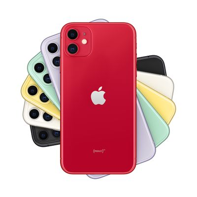 Apple iPhone 11 (PRODUCT) RED Special Edition (MWM32ZD/A) (Bild #1)