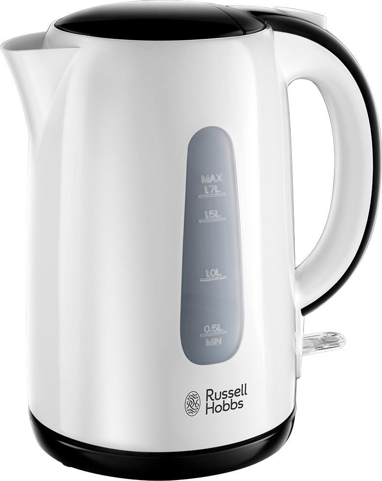 Russell Hobbs 25070-70 1.7l Schwarz - Weiß Wasserkocher (25070-70)