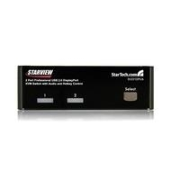 StarTech.com 2 Port DisplayPort USB KVM Switch ...