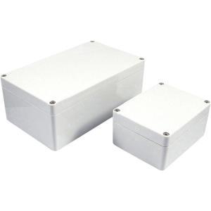 Axxatronic Installations-Gehäuse 240 x 160 120 Polycarbonat Grau 7200-2025 1 St. - broschei