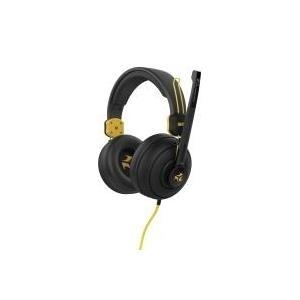 Audiozubehör - Kopfhörer mit Mikrophon Ibox X7 (schwarz und gelb) (SHPIX7MV)  - Onlineshop JACOB Elektronik