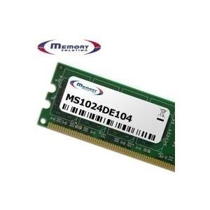 MemorySolution - DDR2 1 GB SO DIMM 200-PIN 533 MHz / PC2-4200 CL4 1.8 V ungepuffert nicht-ECC für Dell Inspiron Mini 10, 9n, Latitude 2100, Precision Mobile Workstation M20, M70 (311-3748) jetztbilligerkaufen