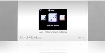 Internet Radio-Adapter DR 463 Bluetooth DAB+ DL...