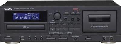 TEAC AD-850 Personal CD player Schwarz CD-Playe...