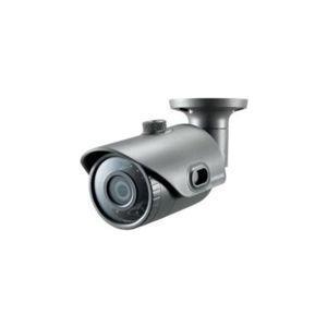 Samsung WiseNet Lite SNO-L6013R - Netzwerk-Überwachungskamera - Außenbereich - wetterfest - Farbe (Tag&Nacht) - 2,2 MP - 1920 x 1080 - feste Brennweite - Audio - LAN 10/100 - MJPEG, H.264 - PoE Class 2