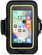 Belkin Sport-Fit Armband - Arm Pack für Mobiltelefon - Blacktop - für Apple iPhone 6, 6s, 7, 8