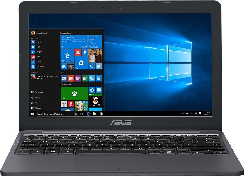 Notebooks, Laptops - ASUS X207NA 1.1GHz N3350 11.6' 1366 x 768Pixel Grau Notebook (90NB0EZ2 M05490)  - Onlineshop JACOB Elektronik