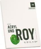 """RÖMERTURM Künstlerblock """"ACRYL UND ROY"""", 360 x 480 mm Acrylmalblock, weiß, rau, 290 g/qm, 20 Blatt, - 1 Stück (88809327)"""