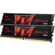 G.Skill DIMM 32 GB DDR4-3000 Kit, Arbeitsspeicher (F4-3000C16D-32GISB, Aegis)