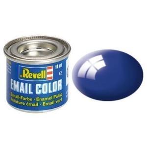 Revell Ultramarinblau - glänzend RAL 5002 14 ml-Dose Farbe Blau Kunstharz Emaillelackierung Zinn (32151)