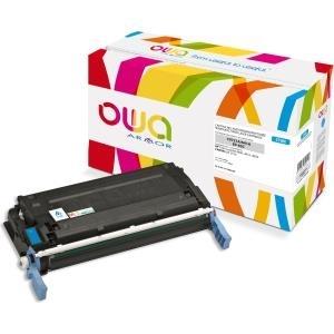 Armor OWA - Cyan - wiederaufbereitet - Tonerpatrone (Alternative zu: HP C9721A) - für HP Color LaserJet 4600, 4610, 4650 (K12003OW)