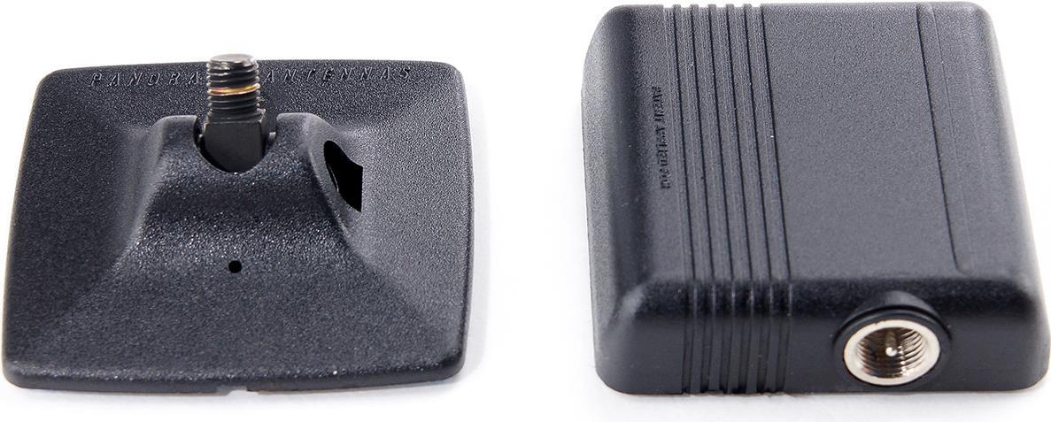 Panorama Antennas Glasklebeantenne TETRA, 410 - 430 MHz, 2dBi (0dB), GSM-, mit 5m FME-Kabel Antenne durch GSM- gut geeignet für verdeckte EinsätzeStrahler in der Neigung verstellbar (0° - 90°)Anschlusskabel URM 76 mit FME Stecker und