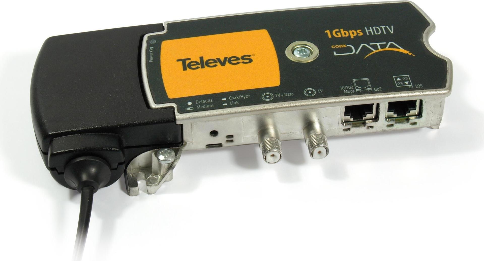 Preisner EKA1000 1000Mbit/s Schwarz - Gelb Netz...