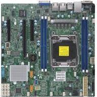 SUPERMICRO X11SRM-F - Motherboard - micro ATX - LGA2066 Socket - C422 - USB 3.0 - 2 x Gigabit LAN - Onboard-Grafik