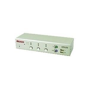 Longshine 2-Port USB/PS2 KVM Switch DVI/Audio inkl. Kabel (LCS-K702D)
