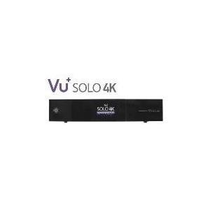 Vu+ Solo 4K UHDTV 2x DVB-S2 FBC / 1x DVB-C/T2 Dual Tuner Receiver - broschei
